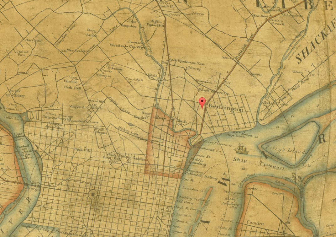 Historic Philadelphia Maps  MyPhillyKind  All That39s